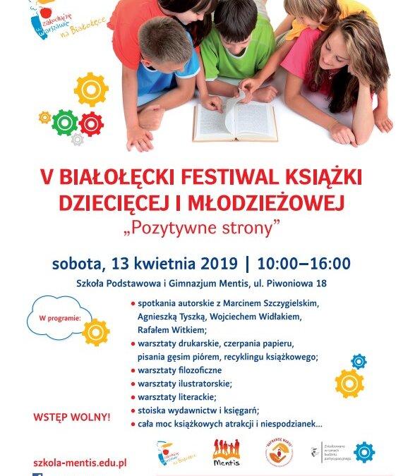 V Białołęcki Festiwal Książki Dziecięcej i Młodzieżowej