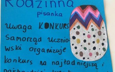 """Konkurs """"Rodzinna Pisanka"""""""
