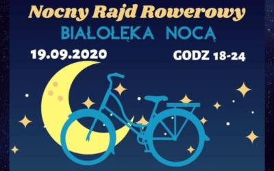 """Nocny Rajd Rowerowy """"Białołęka Nocą"""""""