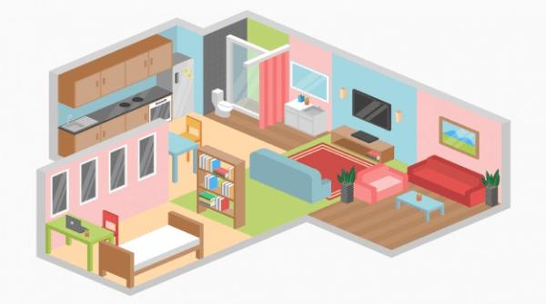Dom marzeń w 3D. Projekt w ramach edukacji ONLINE