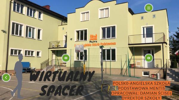 Wirtualny spacer po Polsko-Angielskiej Szkole Podstawowej MENTIS