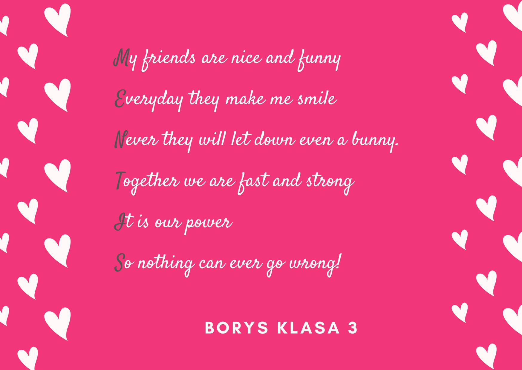wiersz Borys