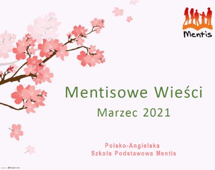 Mentisowe wieści – marzec 2021