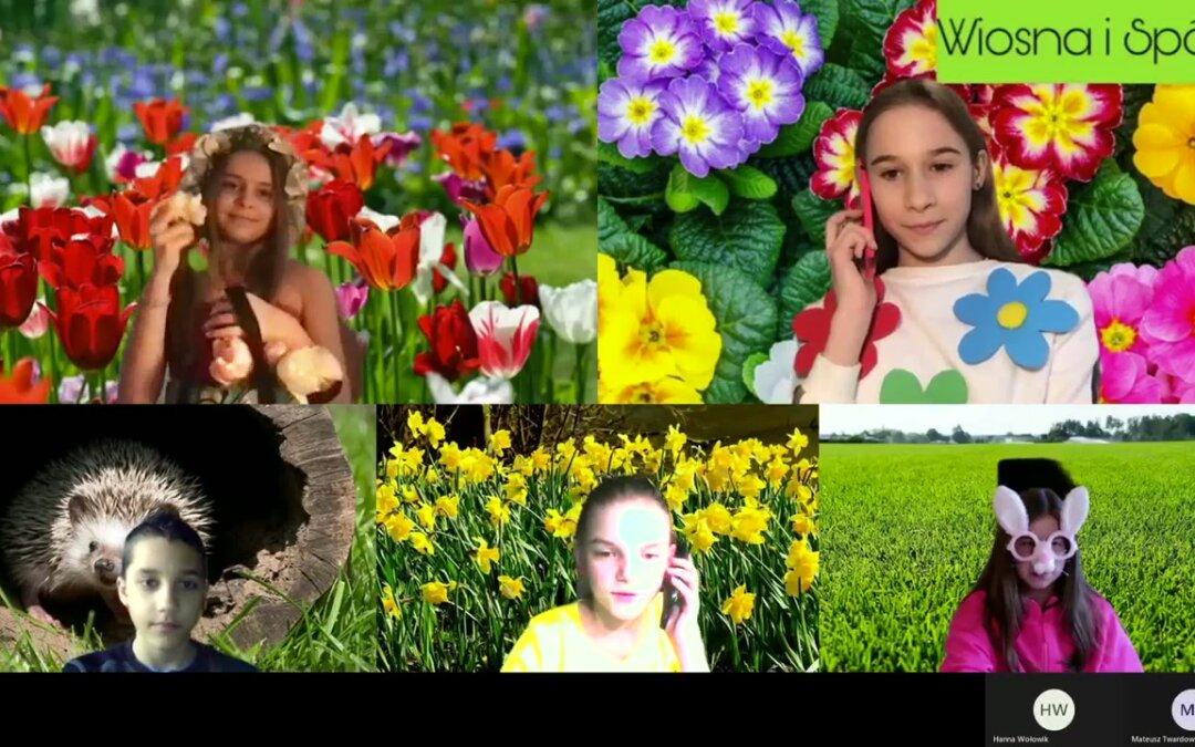 Wiosna w Mentis – przedstawienie Szkolnego Koła Teatralnego
