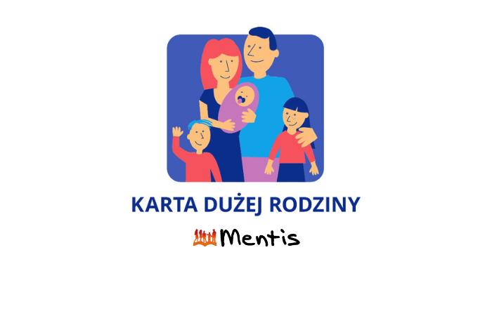 """Szkoła Mentis partnerem programu """"Karta Dużej Rodziny"""""""