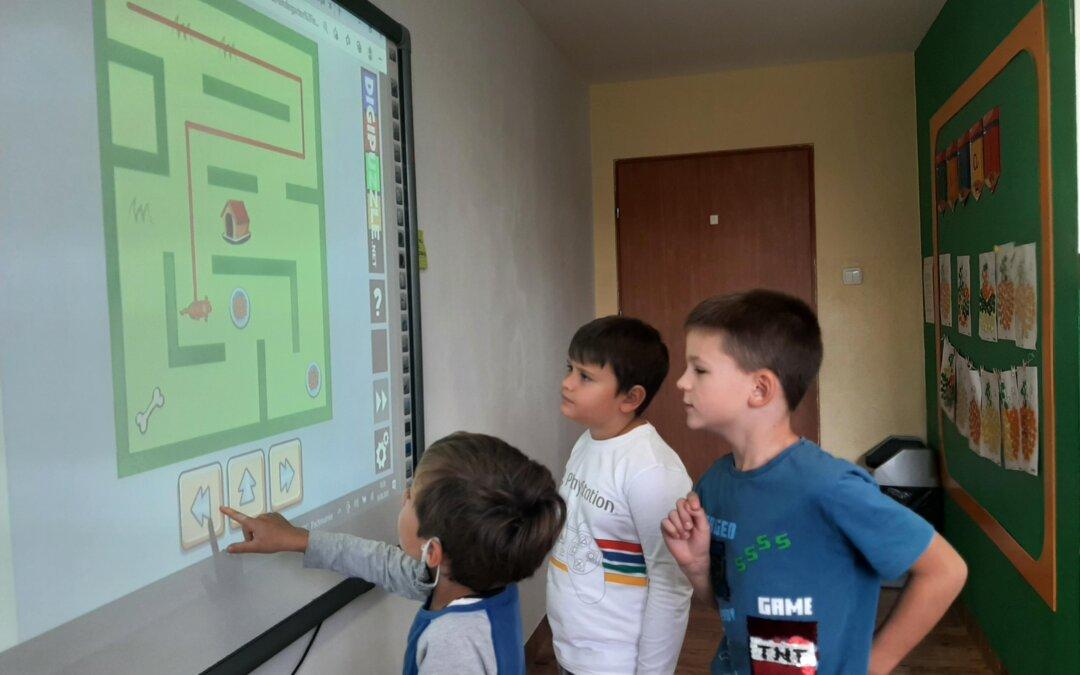 Zajęcia kodowania w klasie I